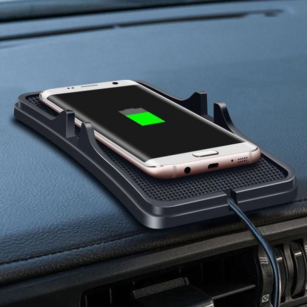 Samsung Galaxy Note 9 Автомобильная беспроводная зарядка-коврик Wireless Charger moskva-Non-slip_Qi_Wireless_avto_zaryadnoe_ustroystvo_GPS_derzhatel_dlya_Samsung_S8_S8_Plus_301.jpeg