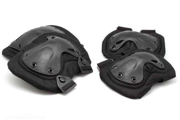 Комплект защиты Стикхант (Наколенники и налокотники)
