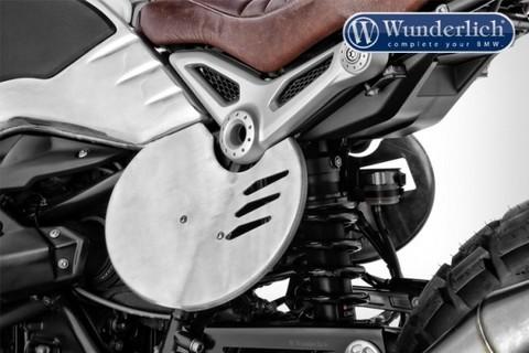Панель под стартовый номер для BMW для R nineT комплект - серебро