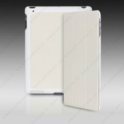 Чехол-книжка Yoobao для Apple iPad 4/ 3/ 2 - Yoobao iSlim Leather Case White