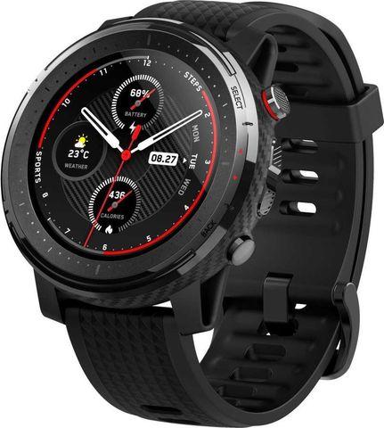 Смарт часы Xiaomi Amazfit Stratos 3 Global Version  (Черные) Black