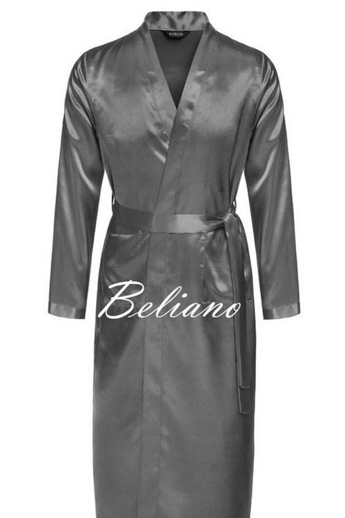 190bacfb945ce66 Серый халат шелковый мужской короткий/длинный · Мужской шелковый халат из натурального  шелка ...