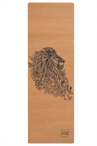 Пробковый коврик для йоги Leo 183*61*0,3см