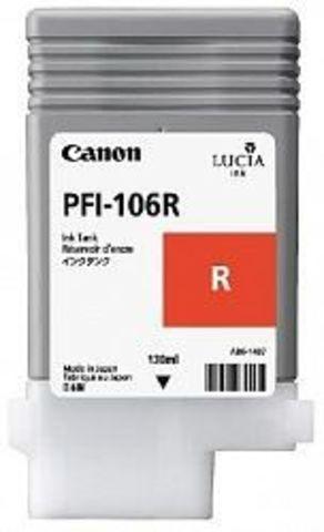 Картридж Canon PFI-106R red (красный) для imagePROGRAF 6300/6350/6400/6450