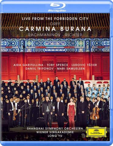 Aida Garifullina, Toby Spence, Ludovic Tezier, Daniil Trifonov, Mari Samuelsen / Orff: Carmina Burana - Live From The Forbidden City (Blu-ray)