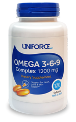 UNIFORCE OMEGA 3-6-9 1200MG 120 КАПС