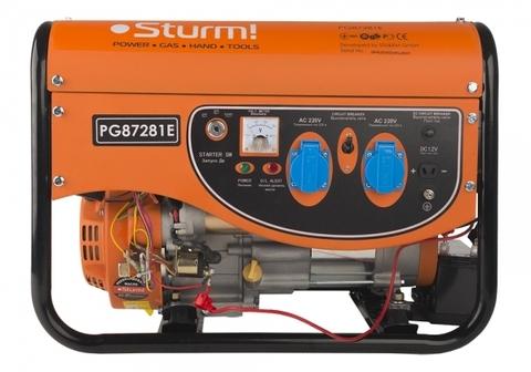 Бензогенератор Sturm PG87281E  2.8кВт +эл. стартер