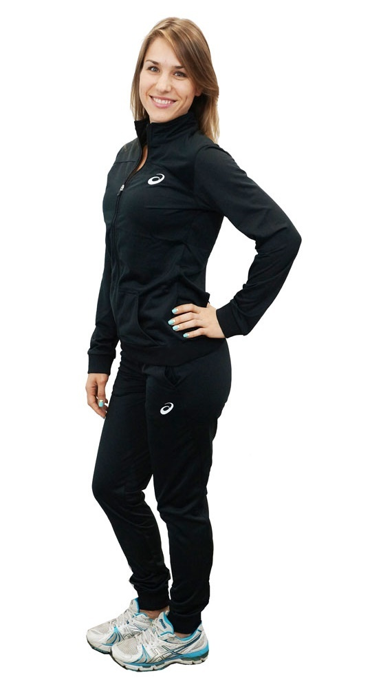 Женский спортивный костюм  ASICS TRACKSUIT (130829 0904) черный