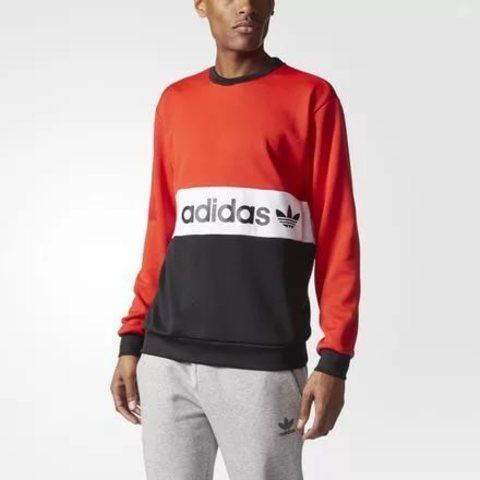 Свитшот мужской adidas ORIGINALS MUFC CREW 84