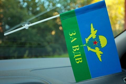 Флаг ВДВ СССР в машину