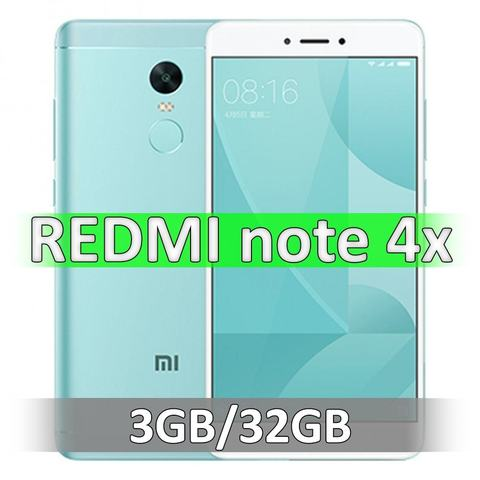 Xiaomi Redmi Note 4X (3-32Gb) Green