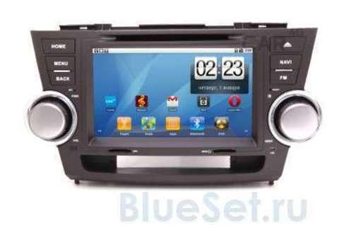 Car 4G JET штатная мультимедийная система в авто, на Android для Toyota