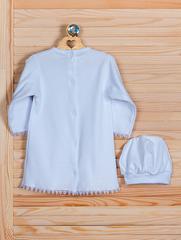 Рубашка крестильная (белый, 74 см)