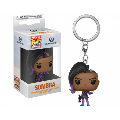 Брелок Сомбра || POP! Keychain Overwatch  Sombra