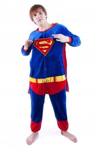 Пижама кигуруми Супермен 3