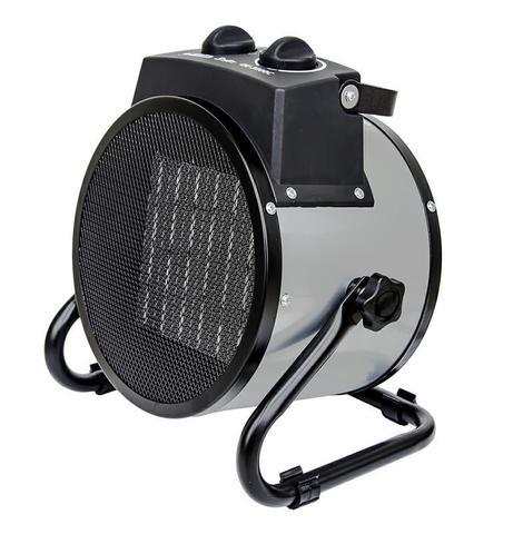 Нагреватель воздуха электрический QUATTRO ELEMENTI QE-3000C (3кВт, 260 м.куб/ч, 220-240 В, режим вентилятора, керамический, 2.8кг)