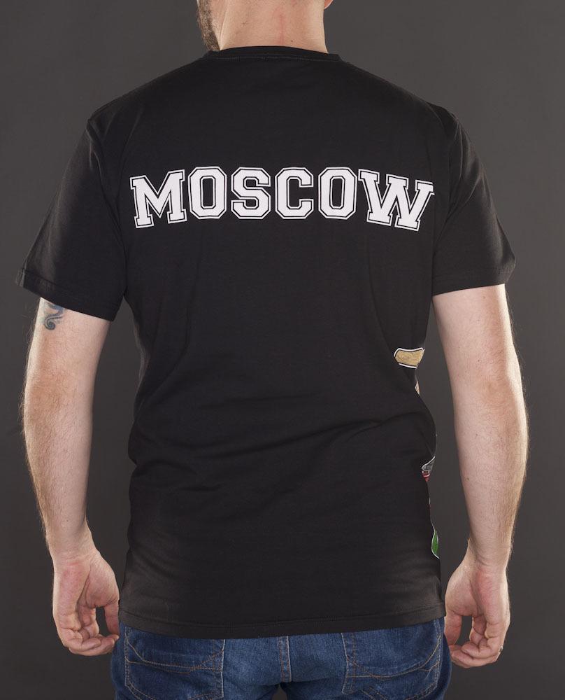 Футболка Moscow чёрная