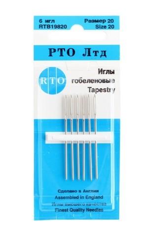 ИГЛЫ ГОБЕЛЕНОВЫЕ-RTB 19820-RTO