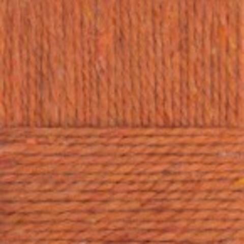 Пряжа Смесовая (Пехорка) 30 Светлый терракот - фото