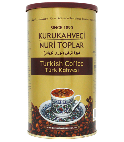 Турецкий кофе молотый, Nuri Toplar Turkish, 250 г