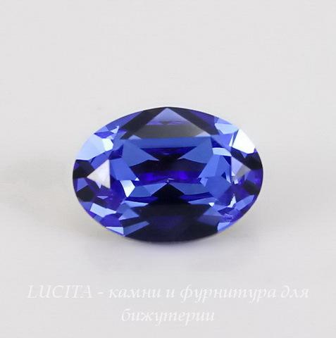 4120 Ювелирные стразы Сваровски Sapphire (14х10 мм)
