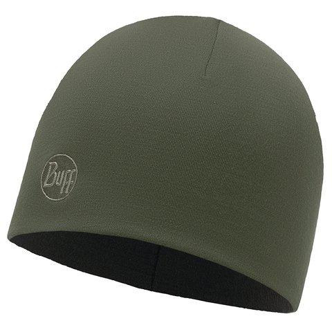 Зимняя шерстяная шапка Buff Solid Forest Night