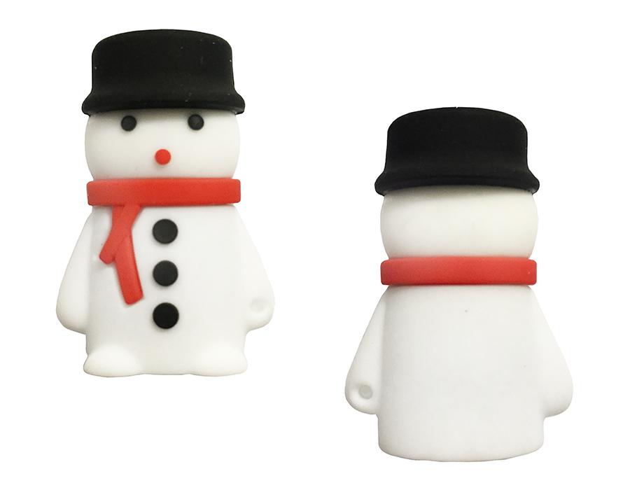 usb-флешка снеговик с шарфом оптом