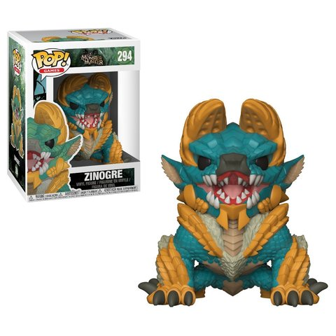 Funko POP! Vinyl: Games: Monster Hunter S1: Zinogre || Зиногр