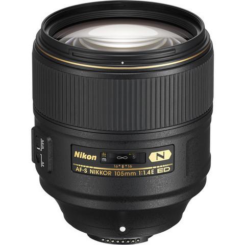 Объектив Nikon AF-S 105mm f/1.4E ED для Nikon