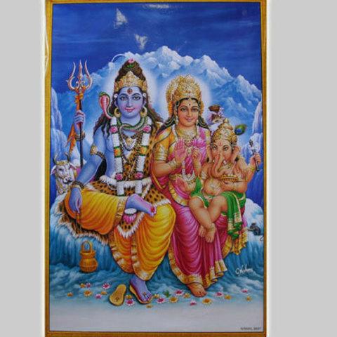 Постер Семья Шивы