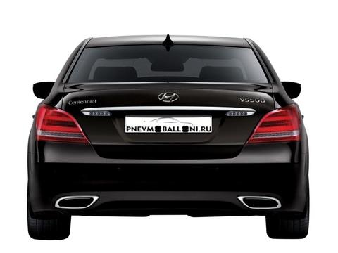 Hyundai Equus / Centennial 2009-  Ремонт Задней Пневмоподвески