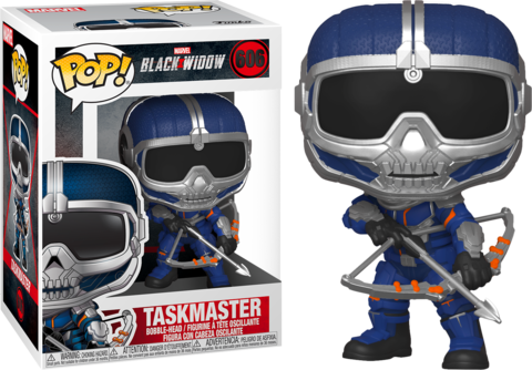 Фигурка Funko Pop! Marvel: Black Widow - Taskmaster