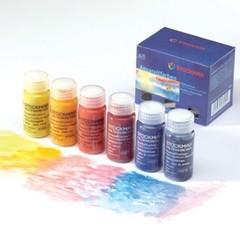 Краска акварельная (набор) 6 цветов по 250 мл (Stockmar)