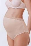 Трусы-слипы для беременных 00627 бежевый