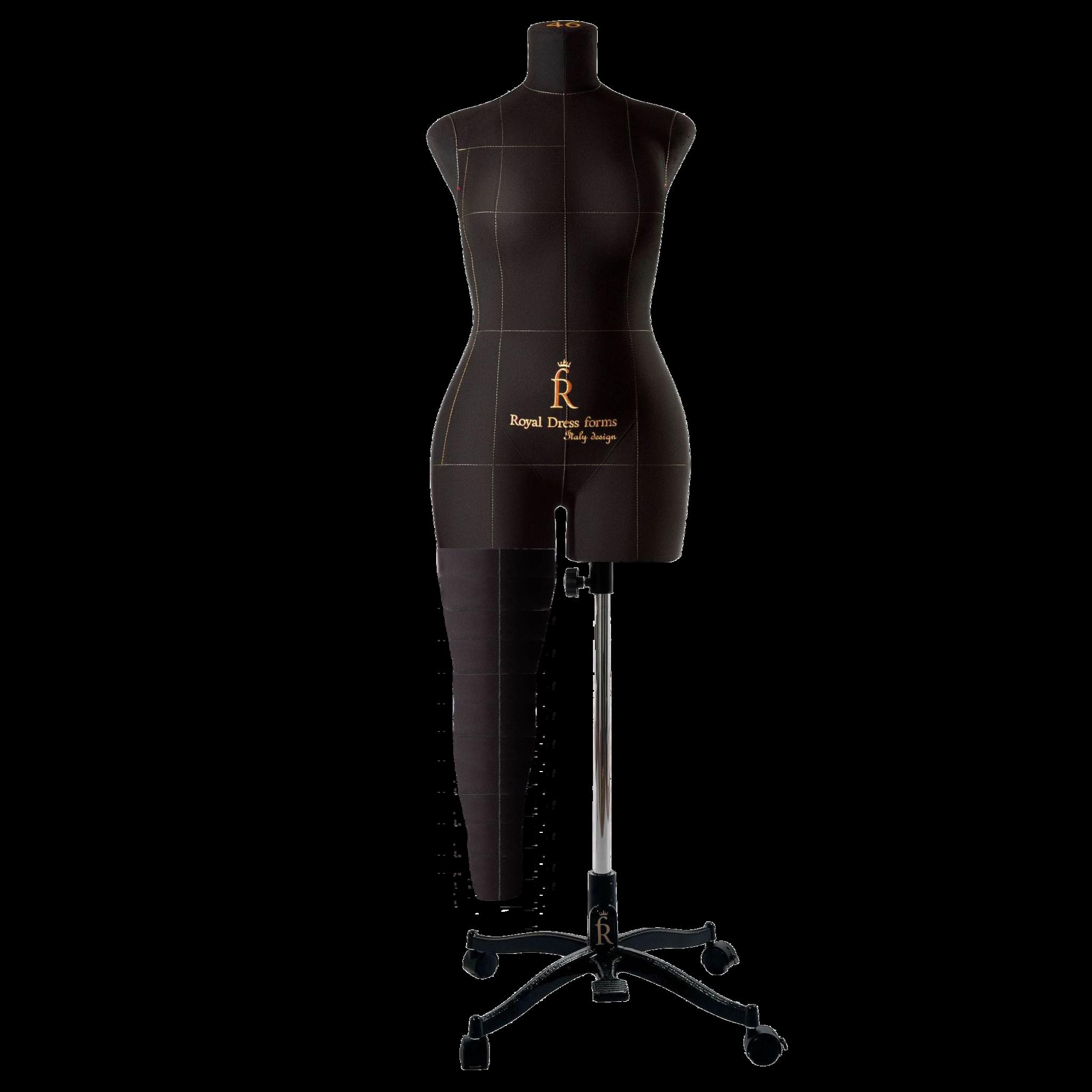 Нога черная для манекена Моника, 46 размер