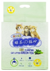 Наполнитель для кошек, HAKASE AREKKUSU, Зеленый чай