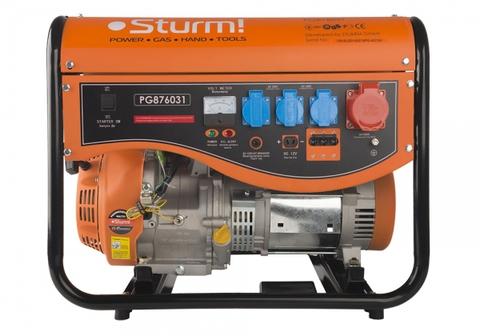 Бензогенератор Sturm PG876031  6кВт