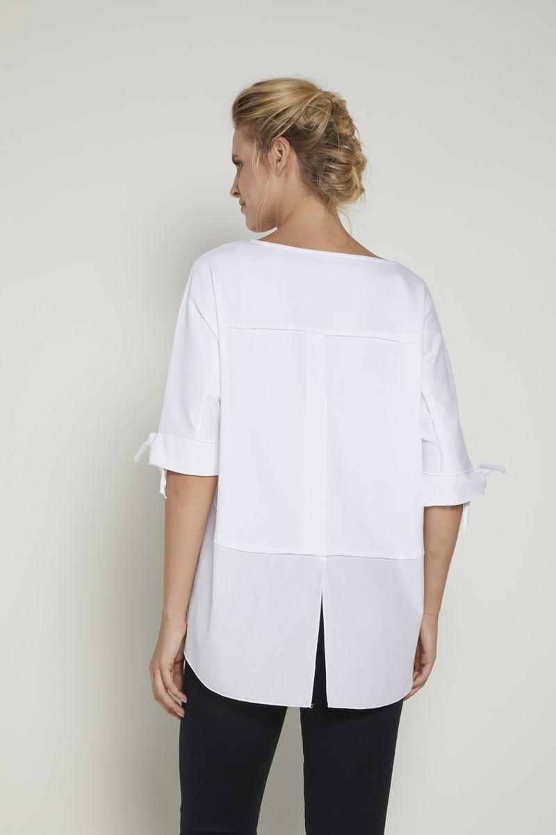 Блузка 09365 белый