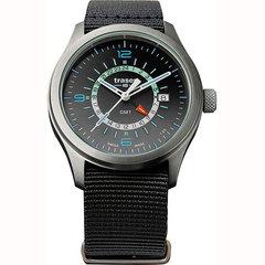 Швейцарские тактические часы Traser P59 AURORA GMT Silver 107233