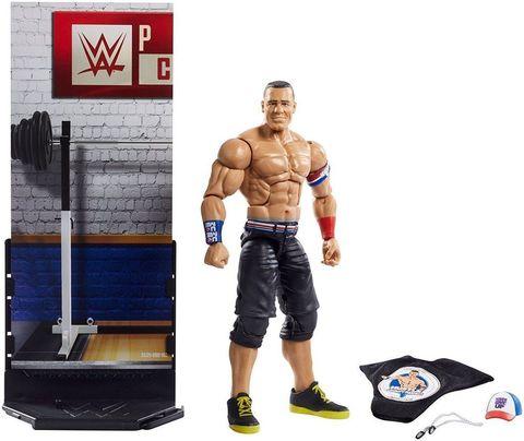 Джон Сина (John Cena) серия # 50  Elite - рестлер Wrestling WWE, Mattel