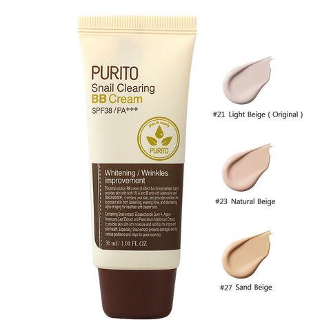 ВВ крем с муцином улитки, 30 мл / Purito Snail Clearing BB Cream
