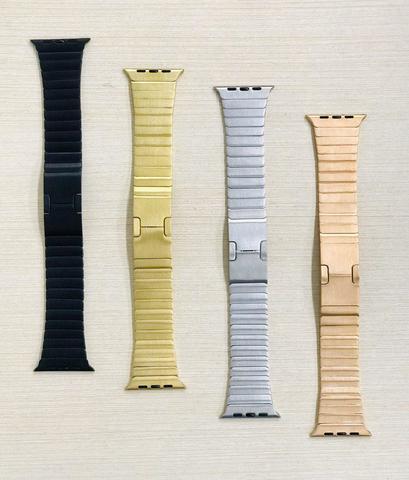 Ремешок Apple watch 42mm Link Bracelet /gold/rose gold/