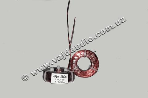 Катушка индуктивности Vajd Audio 0,58 mH* 0,37 Оhm* 1 mm