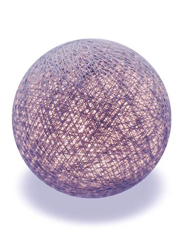Хлопковый шарик темно-серый