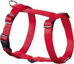 Шлейка для собак, Hunter Smart Ecco Sport XS (23-35/25-41 см), нейлон красная