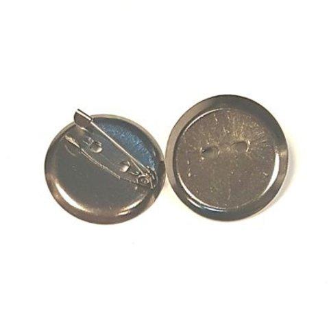 Основа для броши - диск 24 мм темный