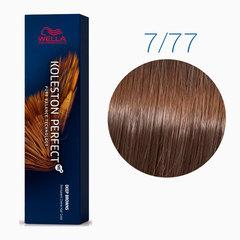 Wella Koleston Perfect Deep Brown 7/77 (Блонд коричневый интенсивный) - стойкая крем-краска