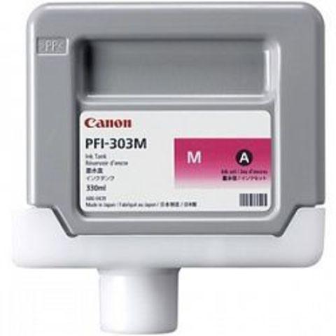 Картридж Canon PFI-303M magenta (пурпурный) для imagePROGRAF imagePROGRAF 810/820/810Pro/820Pro/815/825/825MFP
