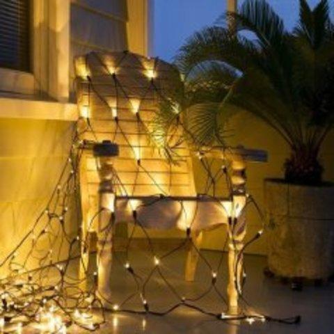 LED гирлянда сетка 3,5 на 1 метров