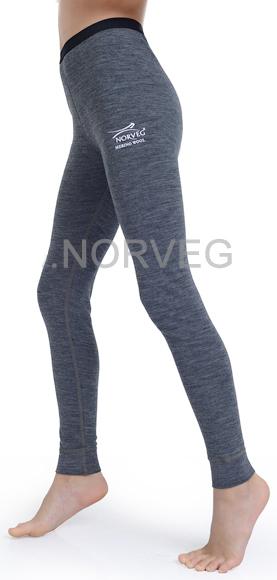 Терморейтузы Norveg Climate Control детские серый